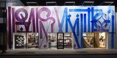 New Louis Vuitton store in Miami's Design District - facade by Retna