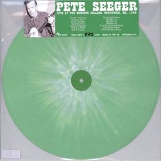 Pete Seeger - Live At The Bowdoin College, Brunswick, Me. 1960 (Splatter Vinyl)