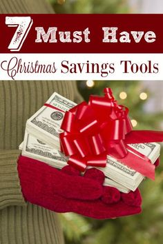 7 Must Have Christmas Savings Tools - Christmas and gift giving at the holidays can be so expensive! Make SURE you have these 7 MUST HAVE Christmas Savings Tools in your money saving arsenal!