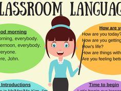 The language spoken in the lessons is English. Here are some phrases you should know, understand, or be able to use...