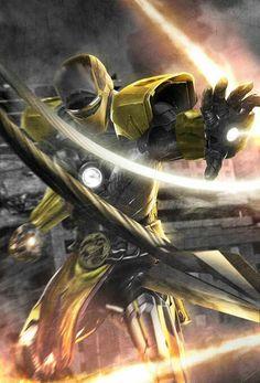 Iron Man-Mortal Kombat Crossover by Boss Logic Iron Men, New Iron Man, Iron Man Art, Mortal Kombat Scorpion, Mortal Kombat Art, Robert Downey Jr., Smosh, Comic Games, Punisher
