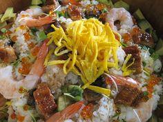 Unagi Cihrashi sushi.