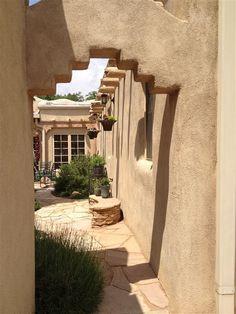 Hacienda Style in New Mexico