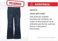 Levi's jeans   #Detox #Fashion Levi´s se unieron al reto para ya no contaminar... Gracias Levi´s