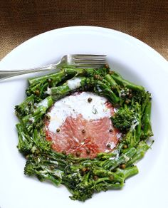 Quick Low-Carb Gammon Steak with Tender-Stem Broccoli, Garlic  Cream | Scrumptious South Africa