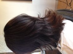 Flippy layers haircut scruples color