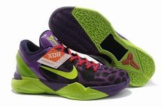 hot sale online 57b44 e7300 Air Foamposite Nike Zoom Kobe 7 GS Cheetah Violet Pop Volt Ink Action Red  Nike  Zoom Kobe 7 - Undoubtedly the flashiest and most vibrant Nike Zoom Kobe VII  ...