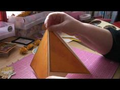 TeePee Card Tutorial ~ Awesome card that stands up like a TeePee, yet can fold flat. Card Making Tips, Card Tricks, Card Making Tutorials, Card Making Techniques, Making Ideas, Fun Fold Cards, Pop Up Cards, Folded Cards, Cool Cards