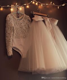 Long Sleeve Flower Girl Tulle Dresses For Wedding Ball Gown Vestido De Noiva Pageant Skirt for Little Kids First Communion Wear Online with $68.07/Piece on Nameilishawedding's Store | DHgate.com