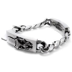 Chrome Hearts Bracelet Classic Floral Cross