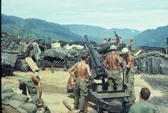 The 82nd Artillery Regiment, 196th LIB at work