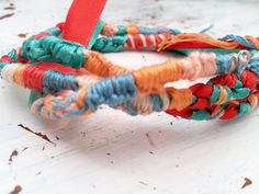 Wrap Bracelet Bohemian Friendship Layer by TheTradingStage on Etsy