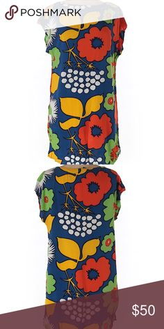 "Marimekko Dress Marimekko for Target rayon dress with floral print. 31"" length Marimekko Dresses"