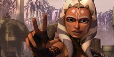 Ahsoka Tano--love her face here