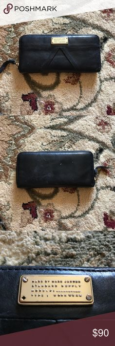 Marc By Marc Jacobs Black Leather Wallet Black Marc by Marc Jacobs Leather Wallet Marc by Marc Jacobs Bags Wallets