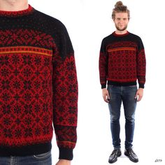 Mens Nordic Sweater