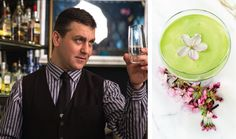 Cocktail named after Nitobe Memorial Garden   UBC Botanical Garden and Centre for Plant Research #matcha #nitobe #gardendrinks