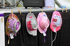 string hats behind desert or present table Country Western Parties b85ecb42c77