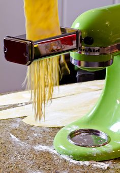 KitchenAid Pasta Attachment   ASpicyPerspective.com @Sommer   A Spicy Perspective
