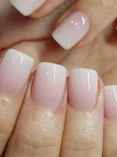 ombre nails - polished nails - powder nails - powder - printer I can make 60 year old clients look just like 20 year old hand source powder Nails Fancy Nail Ideas to Note Now 2019 day nails dip powder Ombre Nail Polish, Pink Ombre Nails, Yellow Nails, Matte Pink, Black Nails, Blush Pink, Cute Acrylic Nails, Glitter Nails, Sparkle Nails