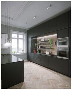 Kitchen Cabinets, Behance, Artist, Home Decor, Decoration Home, Room Decor, Kitchen Base Cabinets, Dressers, Kitchen Cupboards