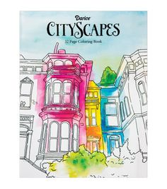 Did you know coloring is a stress reliever? Grab a colored pencil and get some craft therapy with Darice Coloring Book-City. | Adult Coloring Books