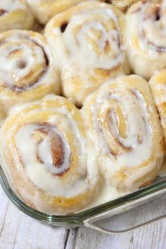 Easy, Three Ingredient Cinnamon Rolls {Mind-Blowing Delicious} - Love of Family Home