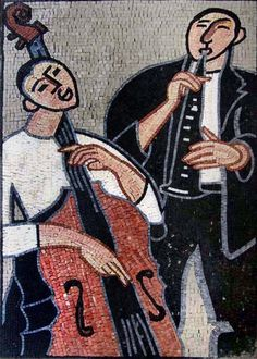 Musicians  Mosaic Artwork