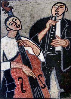 Musicians  Mosaic Artwork