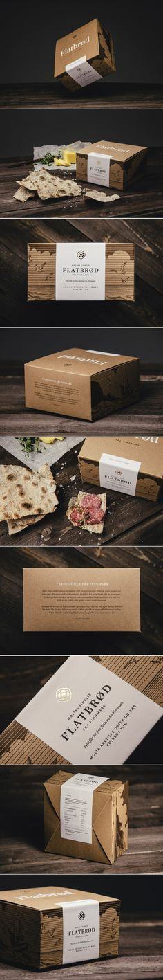 This Norwegian Flatbread Comes With Elegant Packaging — The Dieline | Packaging & Branding Design & Innovation News