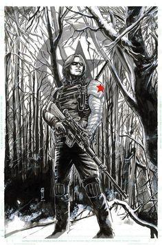 Bucky Barnes by Garrie Gastonny