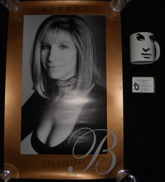Barbra Streisand The Concert Poster Coffee Mug and Pendant 1994