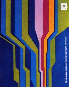 Walter Ballmer, Olivetti advertisement, 1970
