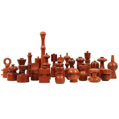 Large Collections of Danish Dansk Pepper Mills by Quistgaard | From a unique collection of antique and modern decorative objects at https://www.1stdibs.com/furniture/more-furniture-collectibles/decorative-objects/