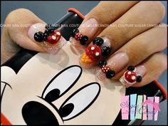 DISNEY pop out nails!