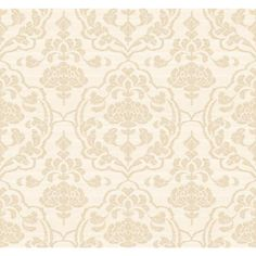 Damask On Silk - Wallpaper