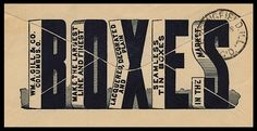 Advertising cover (back, detail)