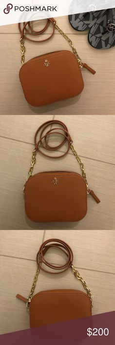 Tory Burch crossbody bag Brand NEW and NO trades please. Also note that the plastic film is no longer on the logo as shown in the pics. Tory Burch Bags