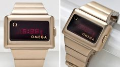 For just over $3,000 you can also sport the same digital watch that Kojak wore, which Omega referred to as a 'Time Computer' back in 1974.