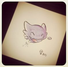 Chibi Pokemon Originals - Haunter