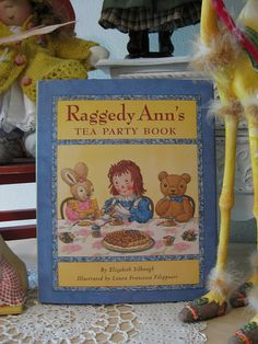 Introduce your children to tea time parties and rituals before it's too late. I did, and it's one of my fondest and most lasting memories of my daughters of when they were little.