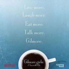 Gilmore Girls: revival ganha novo título e primeiro pôster pela Netflix - Minha Série