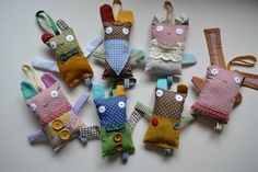 The first ever batch of Jingly Jangly baby toys! www.facebook.com/MsMatched Softies, Plushies, Grandkids, Baby Toys, Ms, Sewing Patterns, Dolls, Facebook, Friends