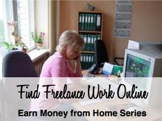 Learn how to make money at home doing legitimate freelance work online.