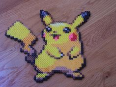 Pikachu perler beads by simplyputmyself on deviantart