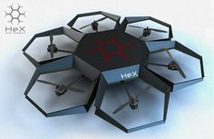 """The military isn't the only area in which we are seeing 3D printing and drones collide. In October we saw a Kickstarter crowdfunding campaign for a smartphone controlled drone called """"Hex"""". The Hex Airbot was a drone hexwhich used an Arduino-compatible board, and a 3D printed body."""
