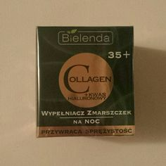 Anti wrinkles with collagen and hyaluronic acid New Bielenda collagen and hyaluronic acid night wrinkle filler. It's in his box and wrapped in plastic, never used. Good reviews on Amazon. PIONEER POLISH BRAND OF NATURAL COSMETICS. Bielenda  Other