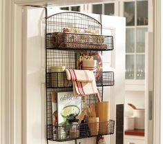 can't wait to have a kitchen with a pantry. love this idea for cook book storage and miscellaneous items