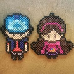 Gravity Falls perler beads by  vox_popu_perls