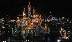 Couer d'Alene Holiday Light Show